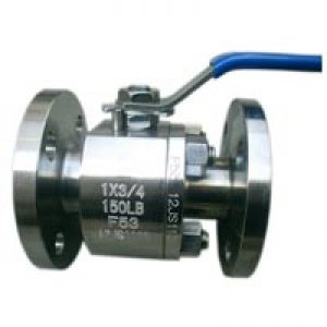 2PCS-Body-Forged-Steel-Floating-Ball-Valve